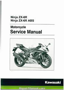 2013  F Ninja 600 Zx  Abs Motorcycle Service Manual