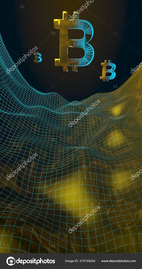 That may happen again, or this may mark the beginning of the finance of the bitcoin bubble. Monnaie Numérique Symbole Bitcoin Sur Fond Sombre Abstrait Croissance Marché — Photo éditoriale ...