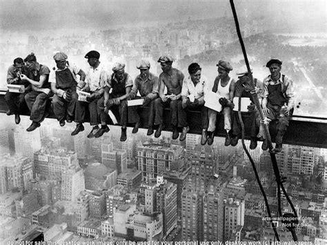 Berühmte Fotografen Und Ihre Bilder by New York History Geschichte Another Lunch Atop A