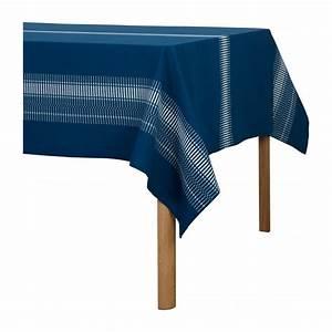 Tischdecke 350 X 150 : line tischdecke aus baumwolle 250 x 150 cm blau ~ Watch28wear.com Haus und Dekorationen