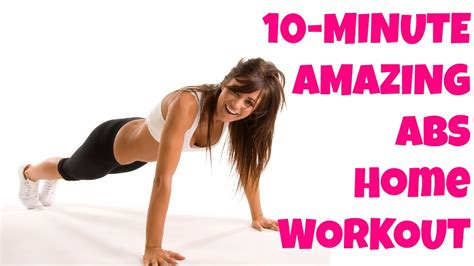 10-minute Abs Workout At-home Abdominal Exercises