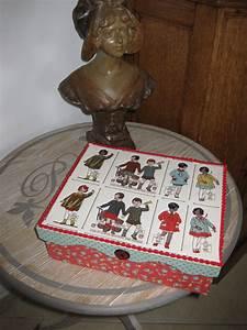Création Avec Tissus : creation de boite avec des tissus moda everydays a holiday ~ Nature-et-papiers.com Idées de Décoration