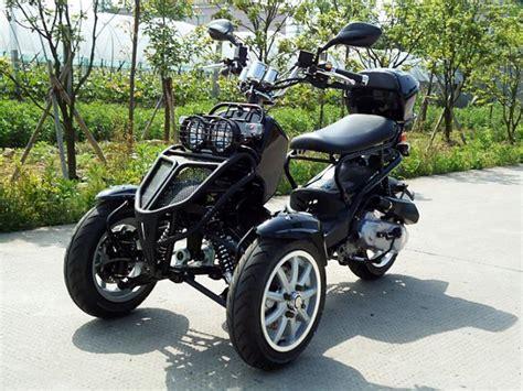 Horizontal Type Tri Wheel Motorcycle 50cc 3 Wheel Trike