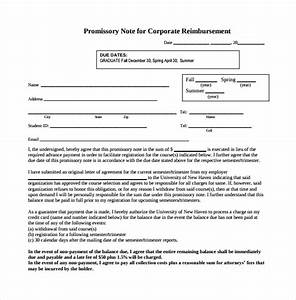 promissory note 22 download free documents in pdf word With corporate promissory note template