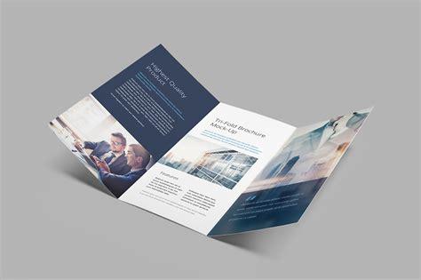 Brochure Mockup Tri Fold Brochure Mockup Mockup Cloud