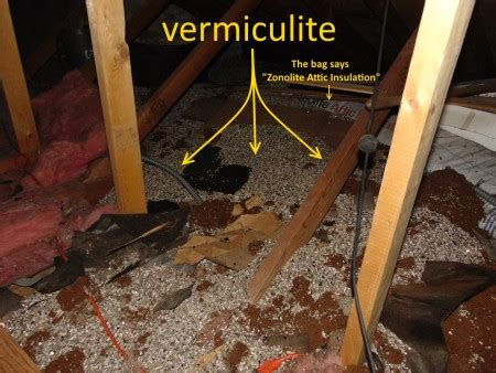 information  asbestos  vermiculite attic