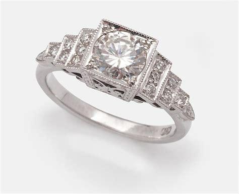 a few diamond engagement rings