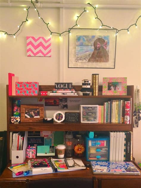 College Desks by School Supplies For Semester Bowtiful