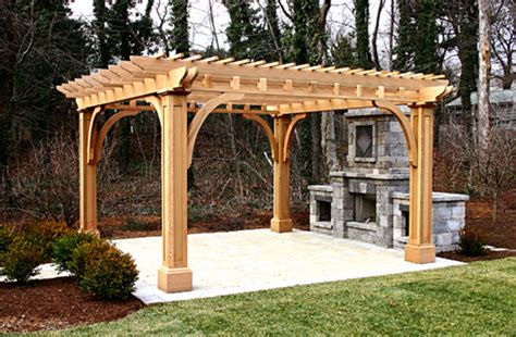 wedding arches cheap post and bracket pergola no bp4 by trellis structures