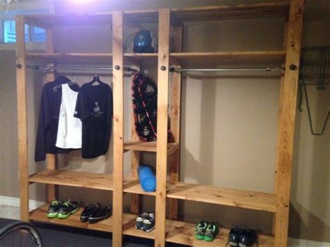 industrial closet system    home projects