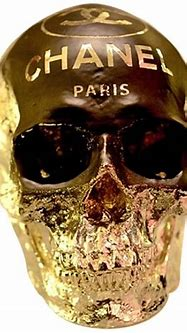 Skull Chanel Sculpture, Paris at 1stdibs