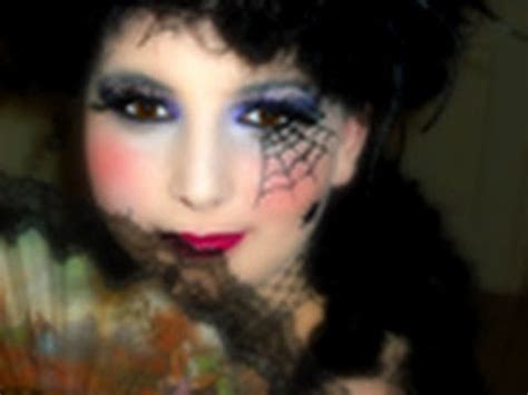 maquillage sorcière fillette maquillage marquise araign 233 e
