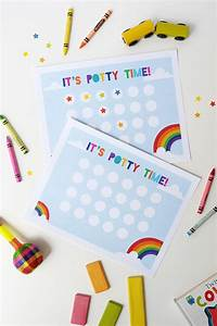 Printable Potty Chart For Toddlers Free Printable Potty Training Chart Potty Training