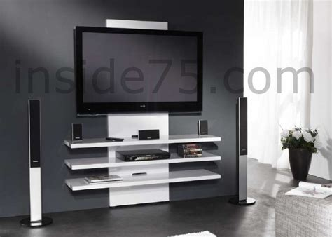 Meuble Tv Mural Suspendu Meuble Tv D Angle Noir