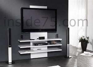 Meuble Design Tv Mural : meuble tv mural meuble tv a suspendre objets decoration maison ~ Teatrodelosmanantiales.com Idées de Décoration