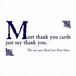 Quiplip - Funny Thank you Card greeting card from the ...