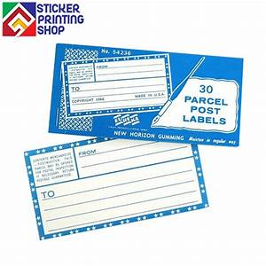 custom warning stickers printing wholesale by With discount mailing labels