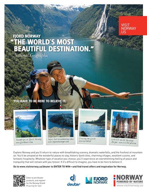 Travel Magazine Advertising Norway Print Advertising Hi