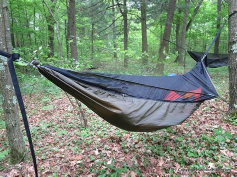 Hammocks Backpacking by Nemo Tetrapod Hammock Review Section Hikers Backpacking