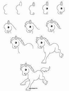 Easy To Draw Cute Horses