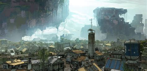 colony background video games artwork