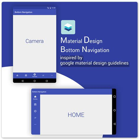 materialbottomnavigation sample code  directory