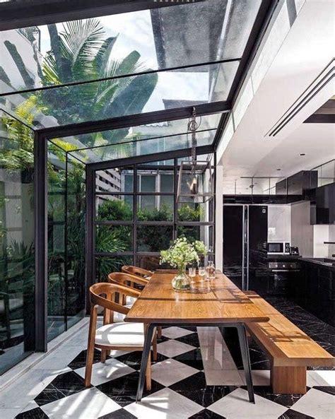 idee verriere salle cuisine en  decoration maison