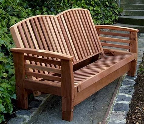 Outdoor Reclining Loveseat by Reclining Loveseat Outdoor Loveseat Forever Redwood