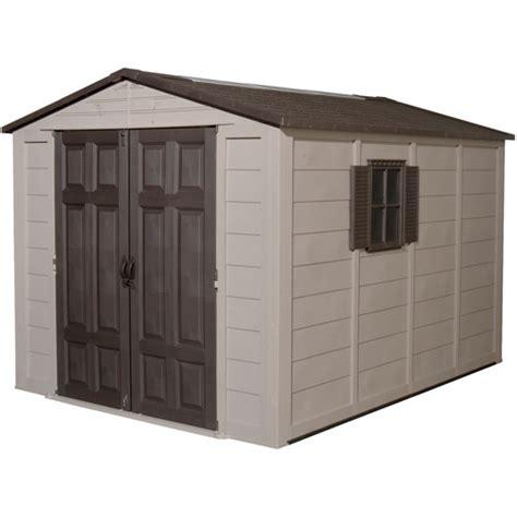 suncast storage sheds walmart suncast 7 5 x 10 storage building with windows walmart