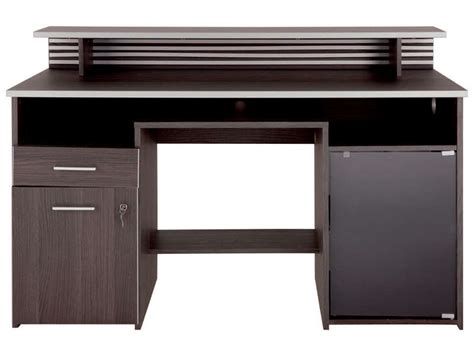 bureau meuble informatique meuble de bureau conforama bureau informatique willow