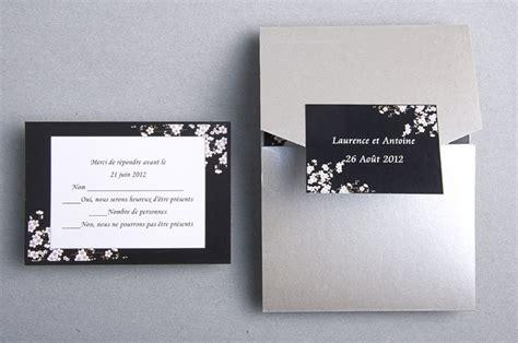 reponse invitation mariage carte de reponse gratuite faire part de mariage noir et blanc jm320 cards and invitations