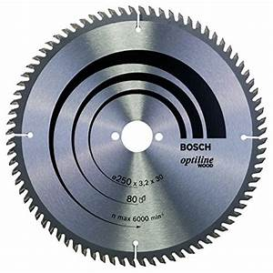 Lame Pour Scie Circulaire : bosch 2608640660 lame de scie circulaire optiline wood ~ Edinachiropracticcenter.com Idées de Décoration