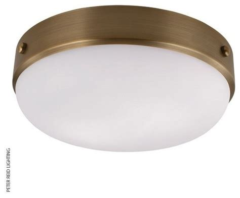 flush mount ceiling fans with lights uk cadence flush mount ceiling light antique brass