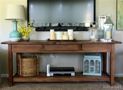 Decorating Ideas Tv Consoles by Console Table Table Decor For The Home