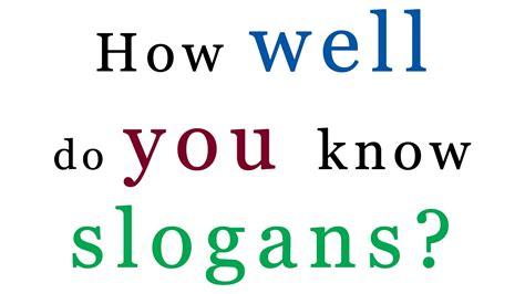 slogan cuisine slogan test how many slogans do you