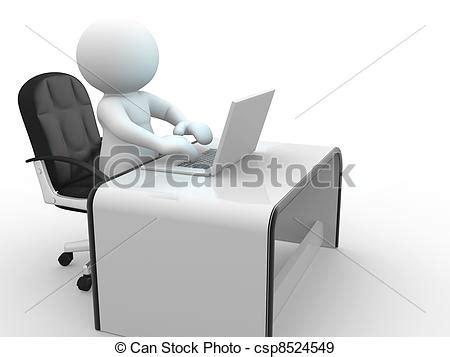 comment choisir ordinateur de bureau illustration de bureau 3d gens humain caractère