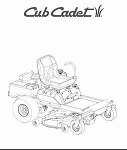 Cub Cadet Lawn Mower 53aa5a5l100 User Guide