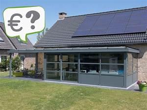 Prix D Une Veranda : quel est le prix d 39 une v randa veranclassic ~ Dallasstarsshop.com Idées de Décoration