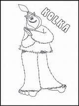 Yeti Colorare Coloriage Mio Smallfoot Coloring Nevi Amico Delle sketch template