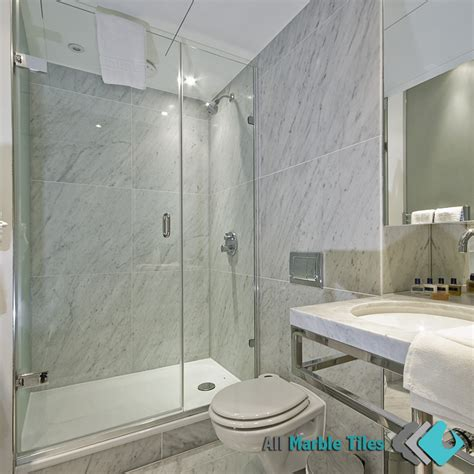italian marble bathroom designs bathroom design with bianco carrara italian marble tiles from http allmarbletiles com