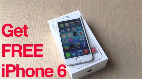 free on iphone how to get iphone 6 for free how to get iphone 6 for