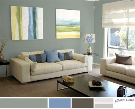 color study green living room ideas mochi home