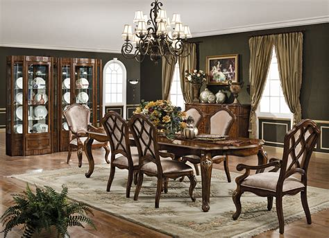 monaco formal dining room set dining room furniture