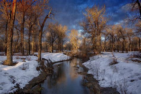 schoene wintermorgen laden sie grosse hintergrundbilder
