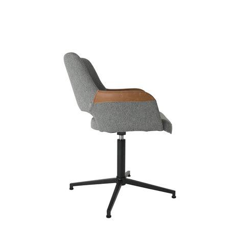 chaise de bureau but fauteuil design pivotant syl zuiver
