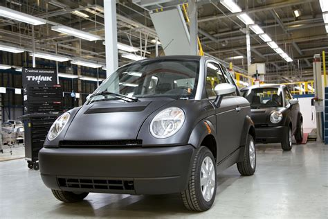 Think Cars : Want Think's Electric Car? Better Live In One Of