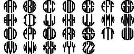 monogram earrings  tone circle block