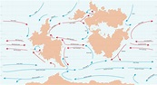 Anterra Ocean Currents Map : FantasyMaps
