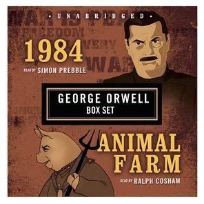 george orwell boxed set   animal farm  george