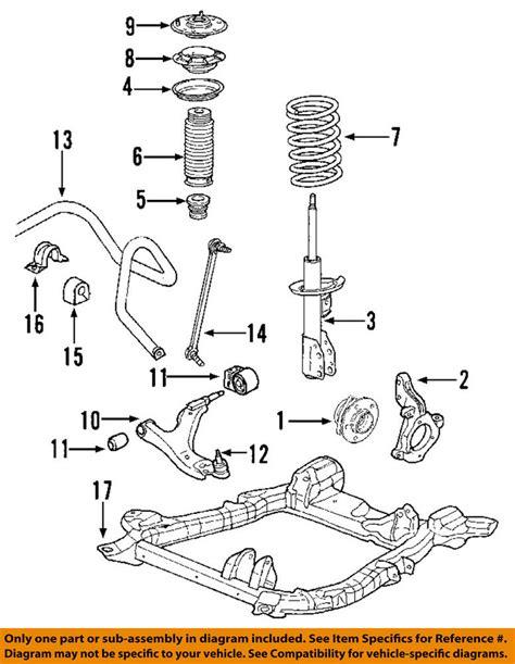 Acura Honda Oem Mdx Front Suspension Strut